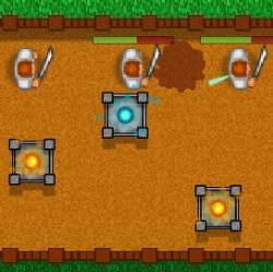 Land Defender Game