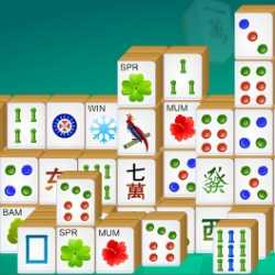 Mahjong - Rain of Tiles Game