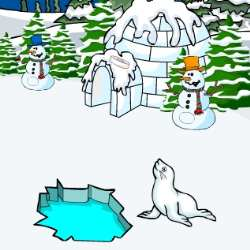Escape Penguin from Igloo House Game