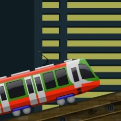 Tram Driving Frenzy Game