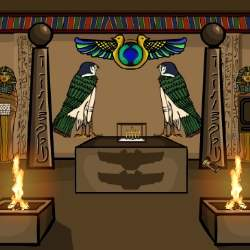 Escape From Egyptian Temple Game