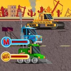 Heavy Equipment Racing Game