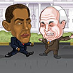 Presidential Street Fight 2008 Game