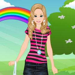 Helen Show Dress Up Game