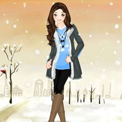 Winter Princess Dress Up Game