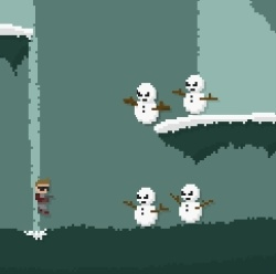 Planet Of The Snowmen - Prototype Game