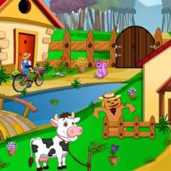 Escape From Pets Farm House Game