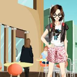 Sunny Afternoon Party Dress Up Game