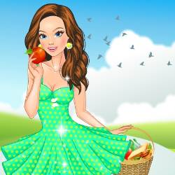 Summer Picnic Dress Up Game