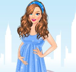 Mommy to Be Preparation Dress Up Game