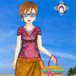 Exotic Girls Dress Up Game
