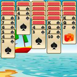 Tropical Spider Solitaire Game
