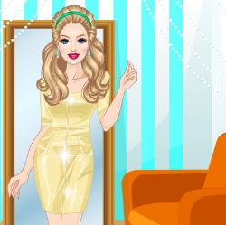 Shopping Fever Dress Up Game