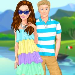 Trip to Italy Dress Up Game