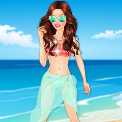 Summer Beauty Dress Up Game