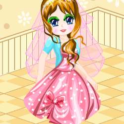 Princess Birthday Party Dress Up Game