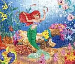 Little Mermaid Jigsaw 3 Game