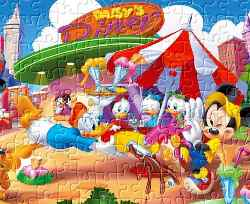 Mickey Mouse Jigsaw 6 Game