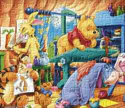 Winnie the Pooh Jigsaw 4 Game