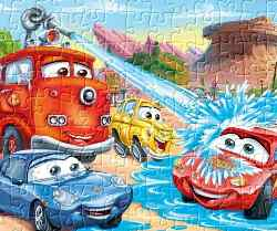Cars Jigsaw Game