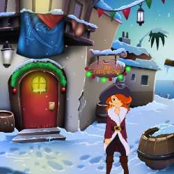 Cap'n Marcela's Winter Wonderland Game
