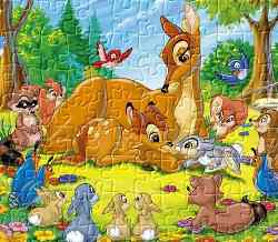 Bambi Jigsaw 2 Game