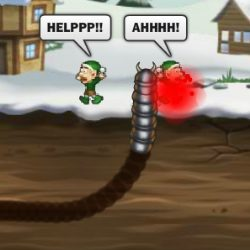Effing Worms - Xmas Game