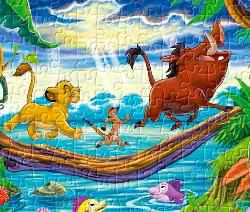 Lion King Jigsaw 2 Game