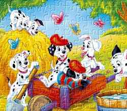 101 Dalmatians Jigsaw Game