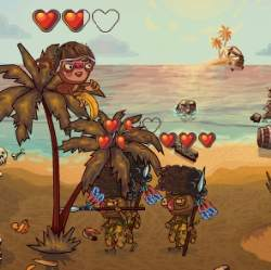 Monkey Defense Game
