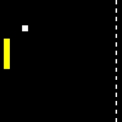Single-Player Pong Colours Game