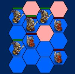 Hexagon Monster War 2 Game