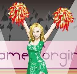 Cheerleader Games Game