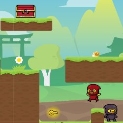 Ninja Duck Adventure Game