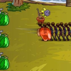 Fruit Zombie Defense Game