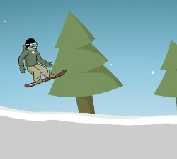 Downhill Snowboard 2 Game