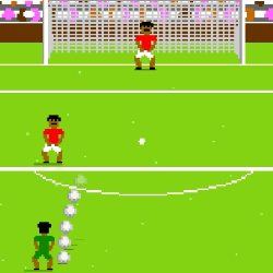 Pixel Football Game