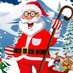 Dress Up Santa Claus Game