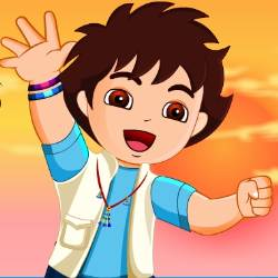 Go Diego Go Dress Up Game