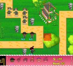 Ninjas vs. Pirates Tower Defense Game