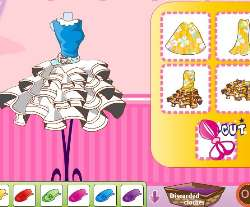Design A Barbie Dress Game