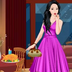 Holiday Dinner Bash Dress Up Game