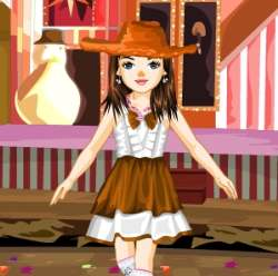 Pretty Little Dancer Girl Dress Up Game