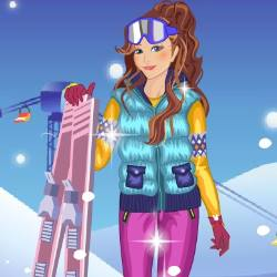 Alps Ski Dress Up Game