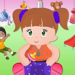 Baby Girl Dress Up Game