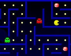 Pacman Advanced Game