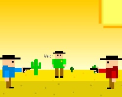 Pixel Showdown Game