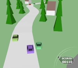 Sprint Race 3D Game