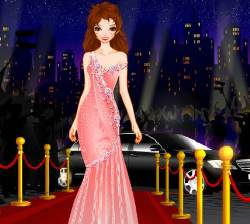 Red Carpet Dressup Game