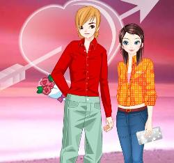 Valentine's Day Dress Up Game
